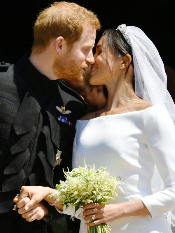 Najbolje fotografije svadbene ceremonije princa Harija i Megan Markl