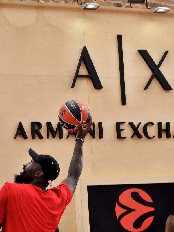 A|X Armani Exchange slavi Euroleague Final 4 u Beogradu