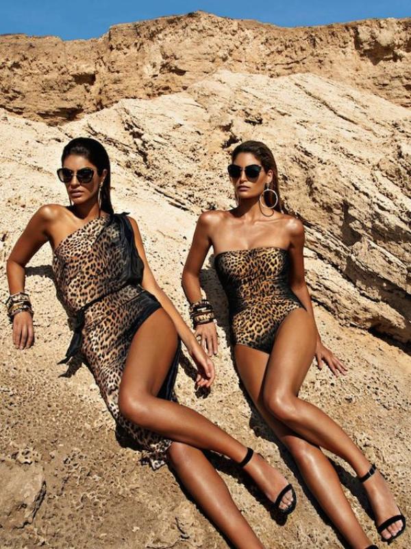 Za vrele dane - kupaći kostim sa leopard desenom