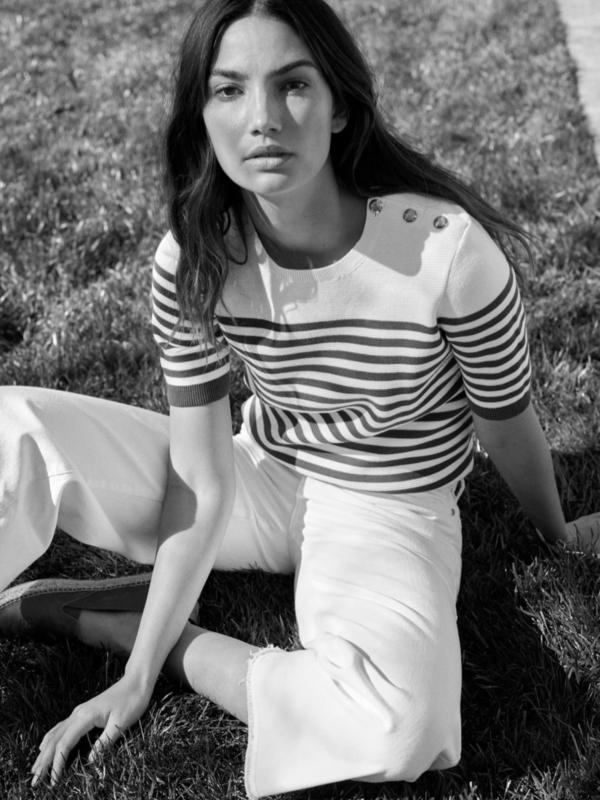 Lili Eldridž u reklamnoj kampanji Lauren Ralph Lauren