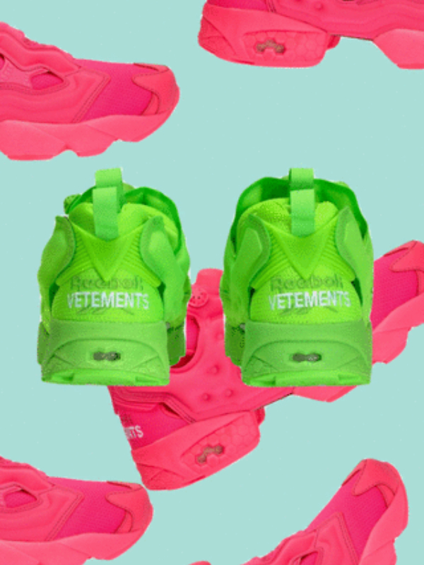 Hit leta: patike Vetements x Reebok Instapump Fury
