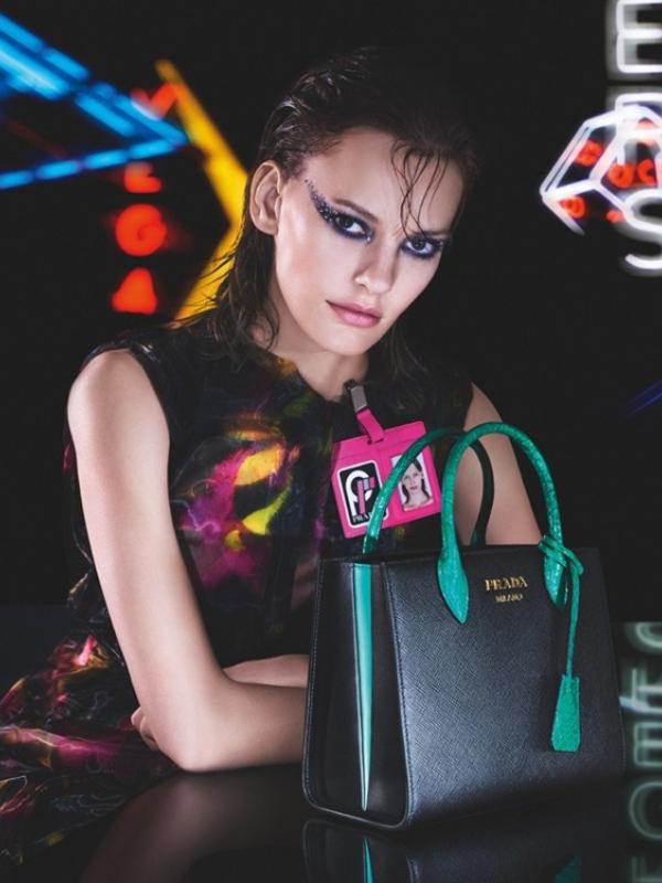 """""""Neon dream"""" - nova reklamna kampanja Prada"""