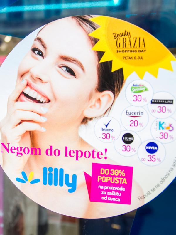Izveštaj sa događaja – letnji Beauty Grazia Shopping Day u Lilly drogerijama