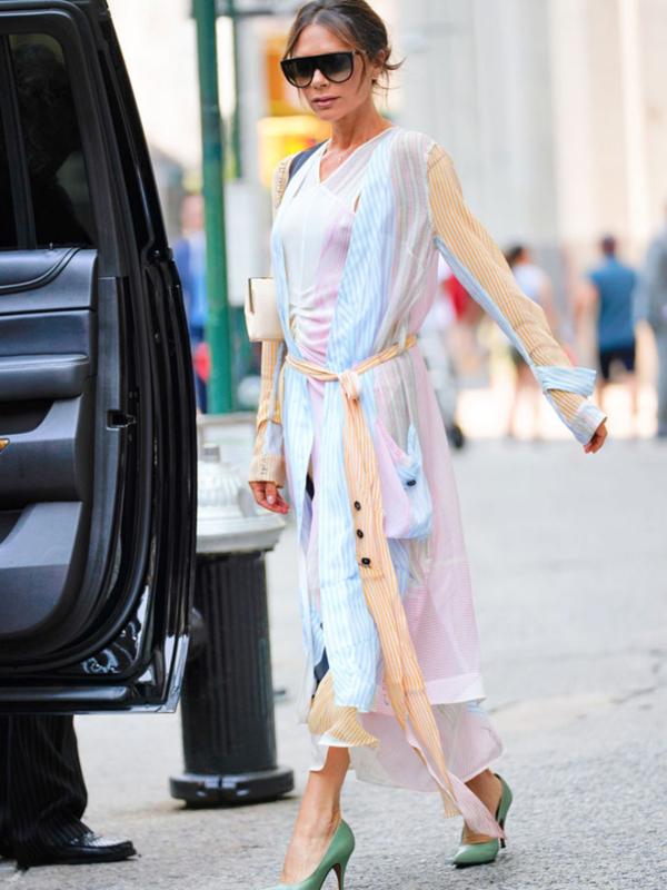 Leto u kancelariji: 10 modnih ideja Viktorije Bekam