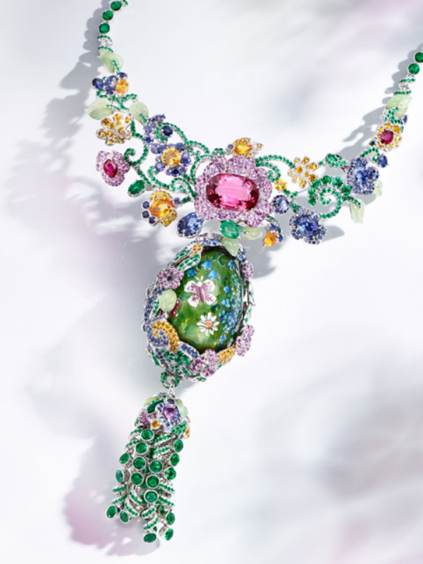 Nova kolekcija nakita - Fabergé Secret Garden
