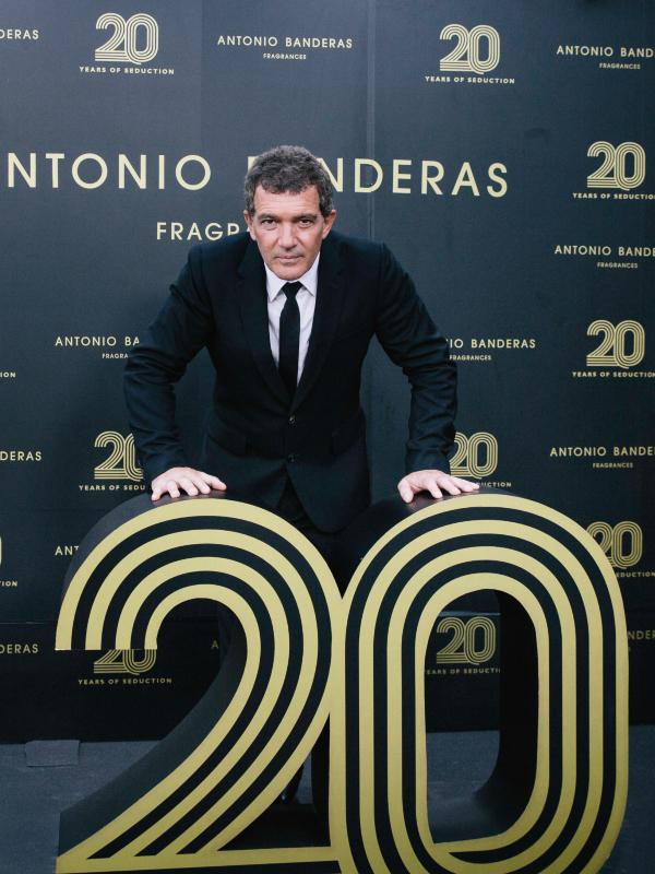 Antonio Banderas proslavio 20-godišnjicu njegove linije parfema