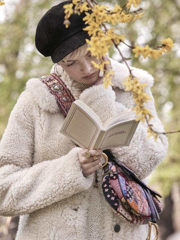 Novi život: torbica Christian Dior u obliku sedla se vratila