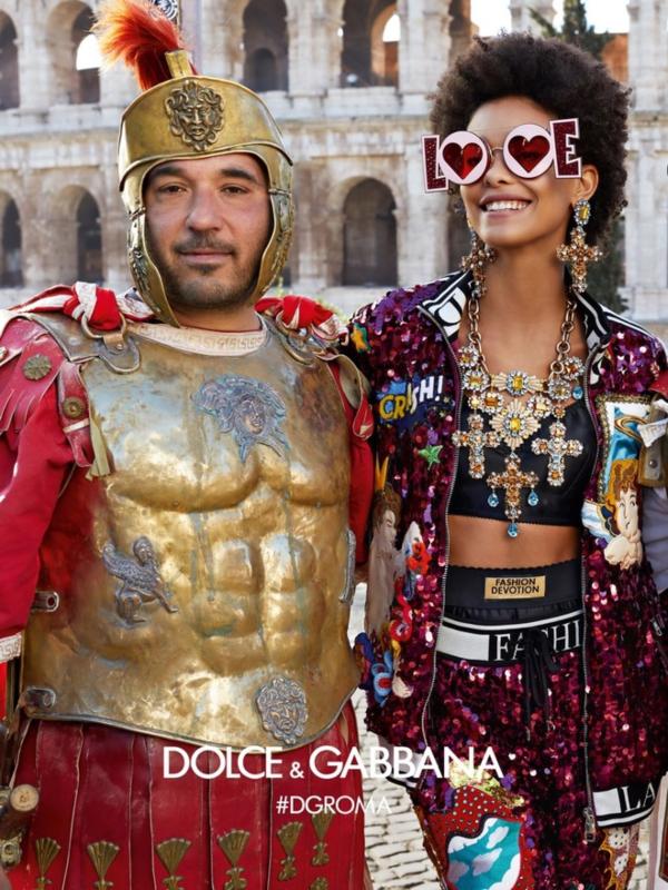 Rimski praznici: nova kampanja Dolce & Gabbana