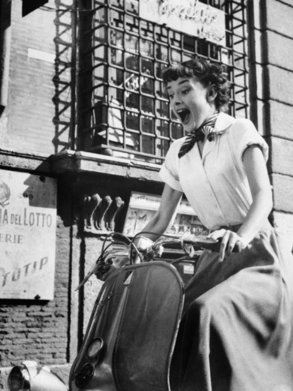 Ljubav prema gradu: Odri Hepbern na ulicama Rima