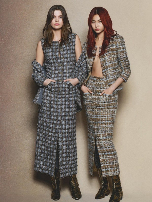 Jesenje boje u novoj reklamnoj kampanji Chanel