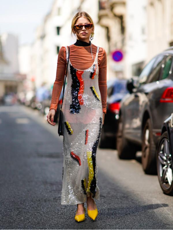 Moderna jesenja kombinacija: haljina + rolka