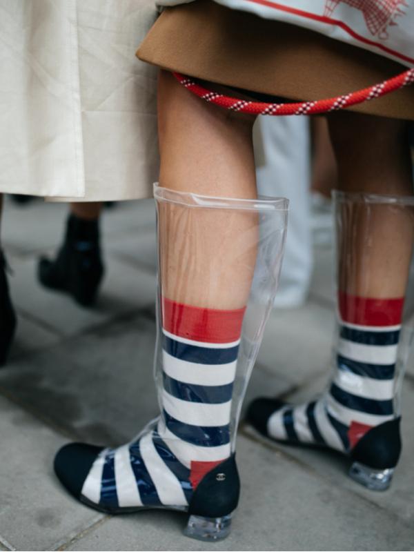 Moderne gumene čizme za jesen