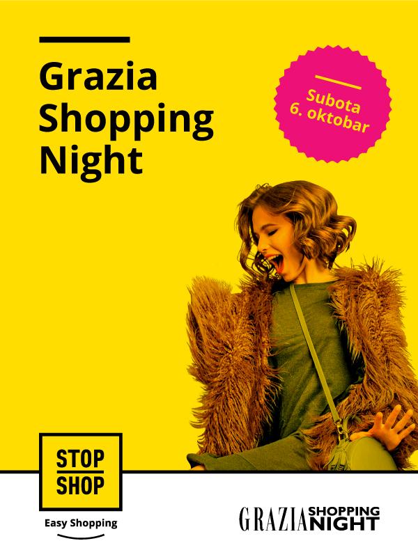 Grazia Shopping Night u STOP SHOP ritejl parkovima širom zemlje