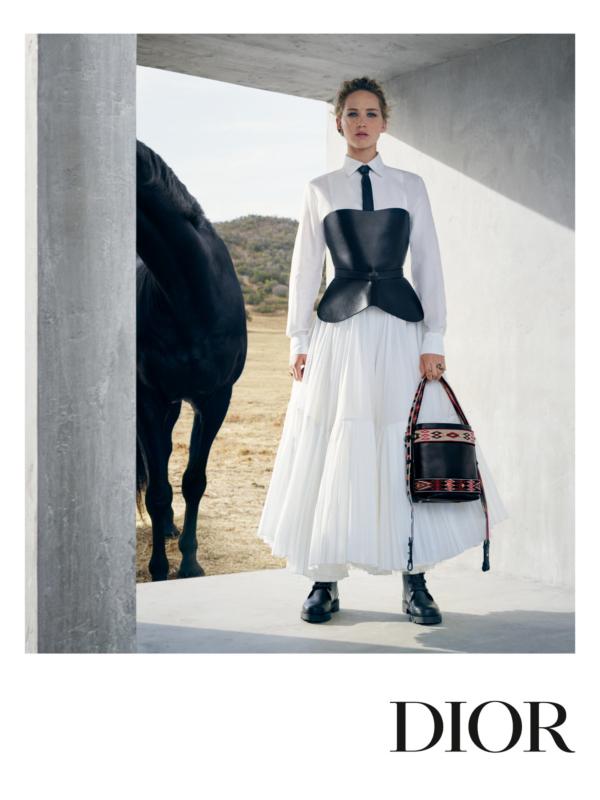 Dženifer Lorens u reklamnoj kampanji Christian Dior Resort 2019