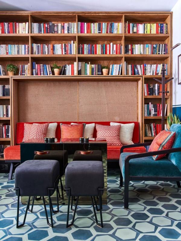 Čaj i knjige: zavirite u bar Tilde Svinton u Londonu