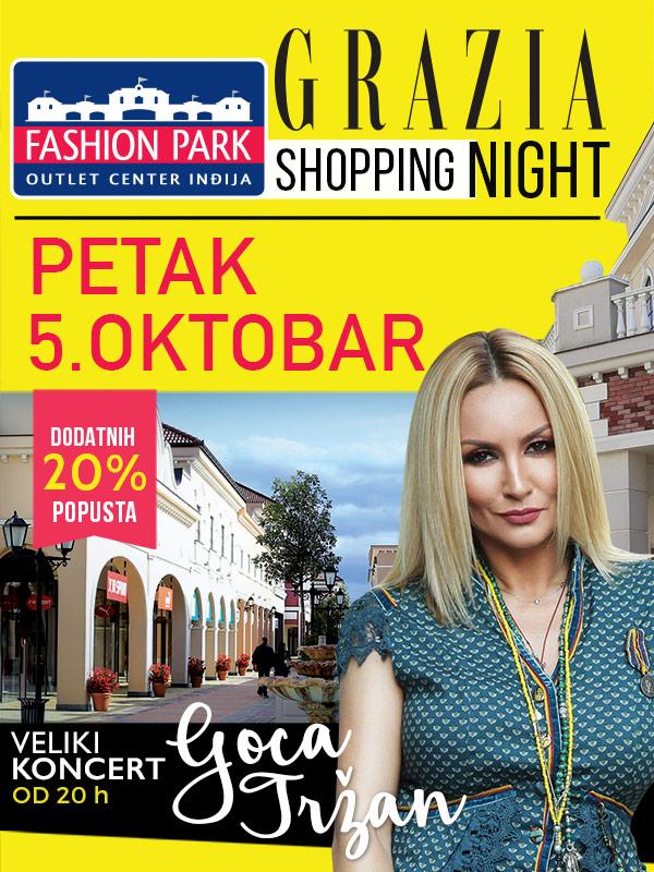 Izveštaj sa događaja – Grazia Shopping Night u Fashion Parku, 6.10.2018.