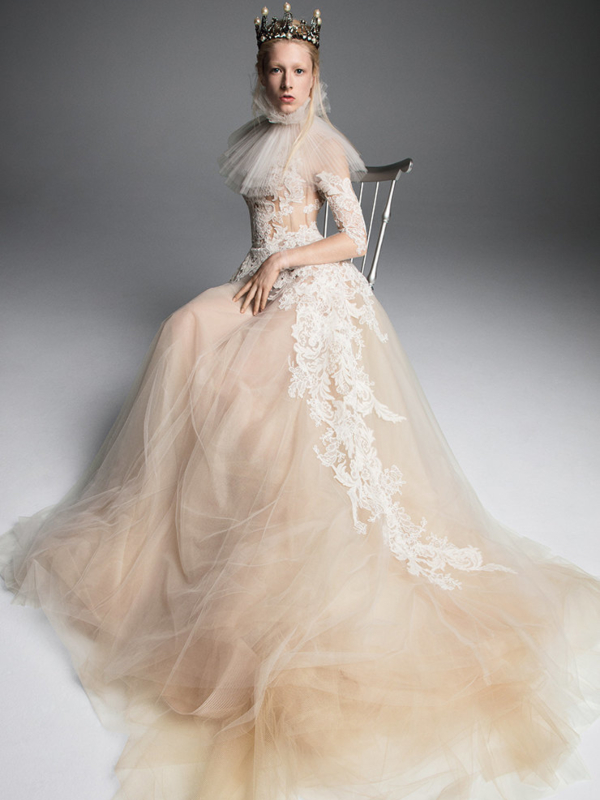Venčanice Vera Wang u kojima ćete se osećati kao princeza iz XVII veka
