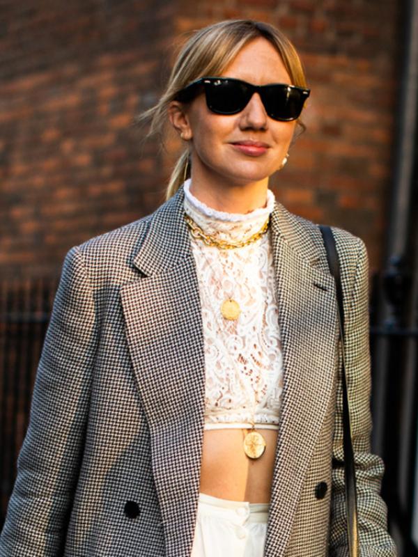 30 načina - nosite zlatne ogrlice kao street style zvezde