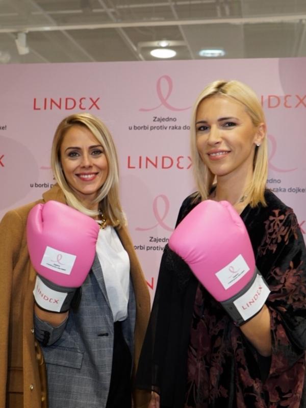 Lindex sa svojim kupcima nastavlja zajedničku borbu protiv raka dojke