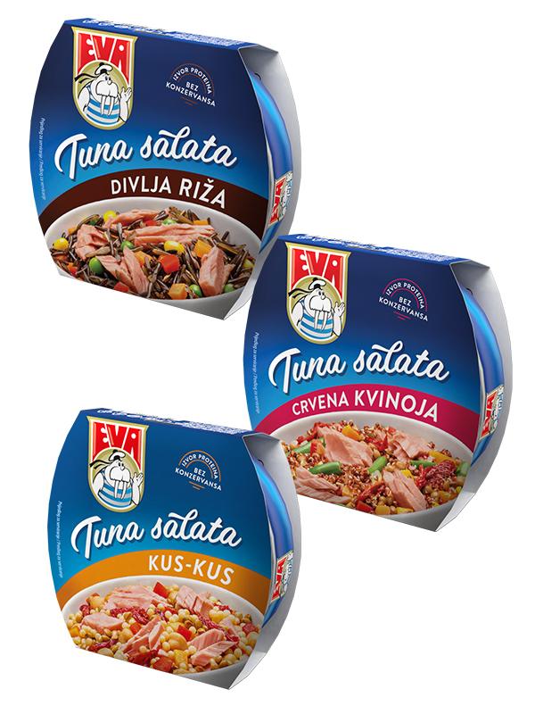 Nove Eva tuna salate – za one koji uz zdrav obrok traže i savršen ukus