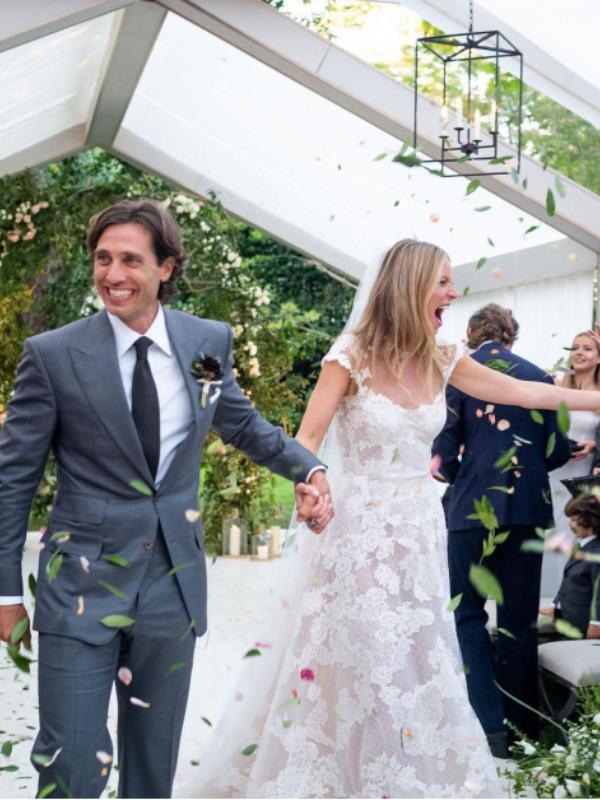 Prve fotografije sa venčanja Gvinet  Paltrou
