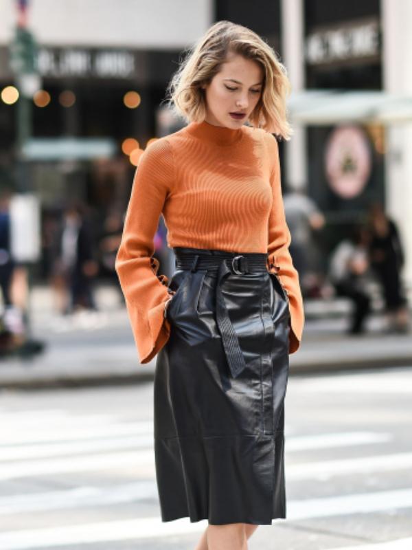 Kako nositi kožnu suknju ove jeseni i zime - 5 trendi ideja