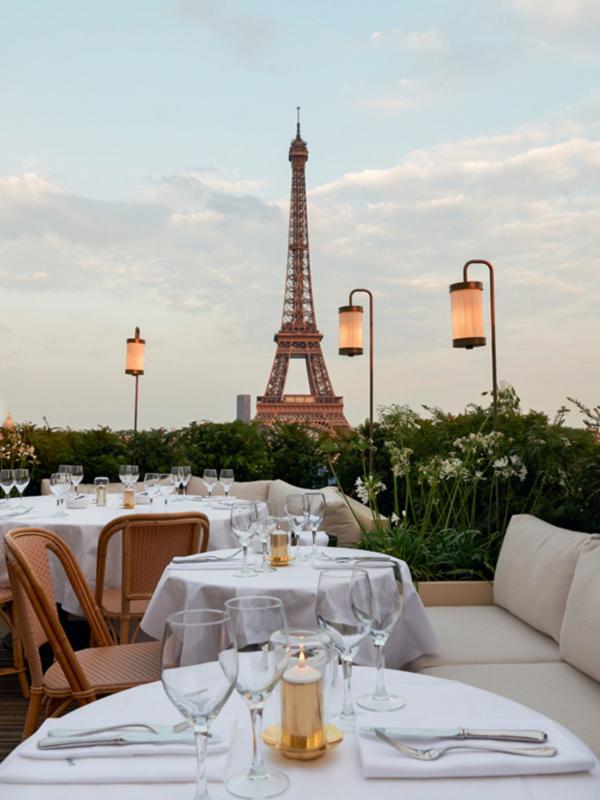 Ručak u muzeju: restoran Girafe u Parizu