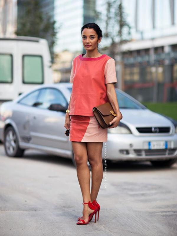 Street style: kako nositi glavnu boju 2019.
