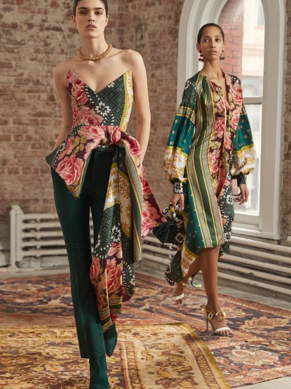 Najlepše večernje haljine u kolekciji Oscar de la Renta Pre-Fall 2019