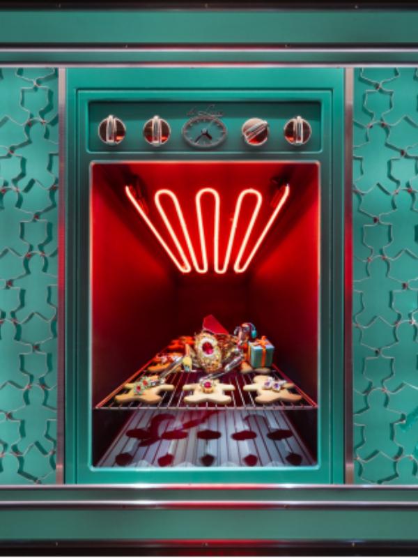 Praznici nam stižu: Tiffany & Co. predstavlja novogodišnje izloge