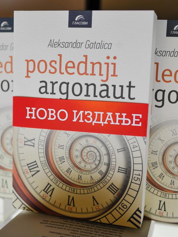 Potpisan primerak romana Aleksandra Gatalice u Glasnikovim knjižarama
