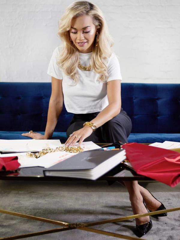Rita Ora je kreirala kolekciju cipela za Giuseppe Zanotti
