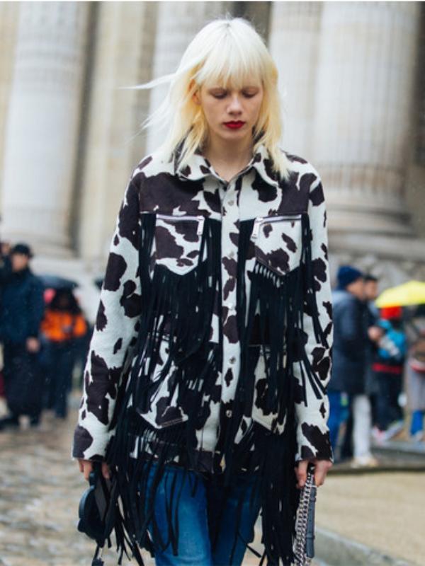 """Kravica print - novi modni konkurent """"leoparda"""" i """"zebre"""""""
