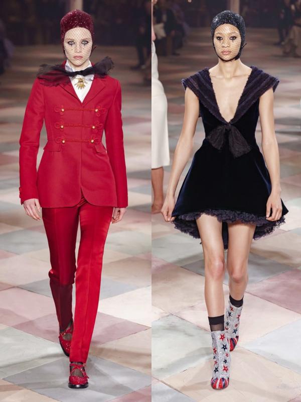 Modni cirkus na reviji Dior Haute Couture 2019
