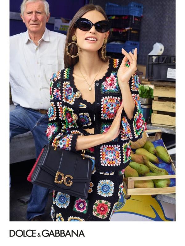 Bjanka Balti u novoj reklamnoj kampanji Dolce&Gabbana