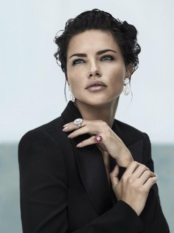 Sjajna lepota: Adrijana Lima u Chopard reklamnoj kampanji