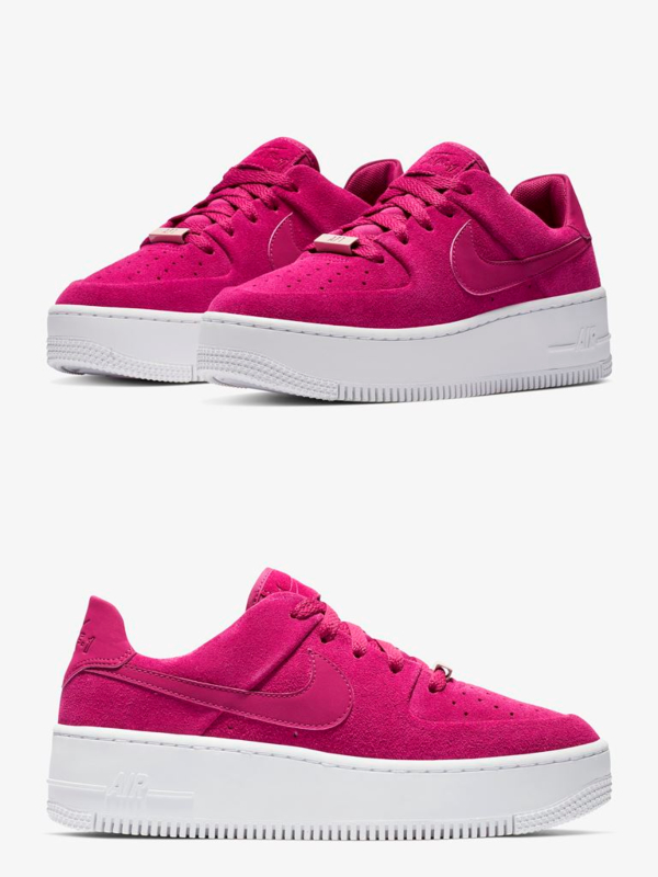 "Nike Air Force 1 Sage Low ""True Berry"""