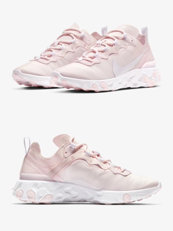 "Nike predstavlja novi model React Element 55 ""Pale Pink"""