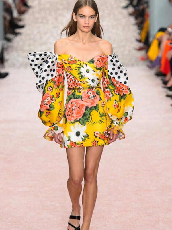 15 najlepših cvetnih haljina iz prolećnih kolekcija