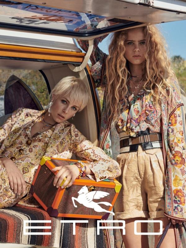 Na vetru: Etro proleće/leto 2019 reklamna kampanja
