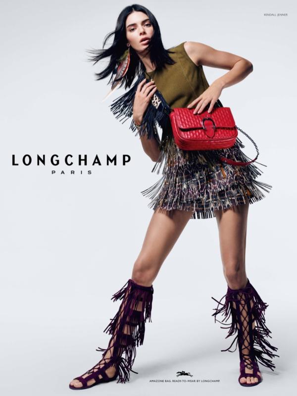 Kendal Džener u reklamnoj kampanji Longchamp proleće/leto 2019