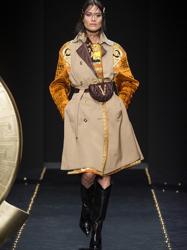 Slojevitost i grandž stil u novoj kolekciji Versace FW 2019/20