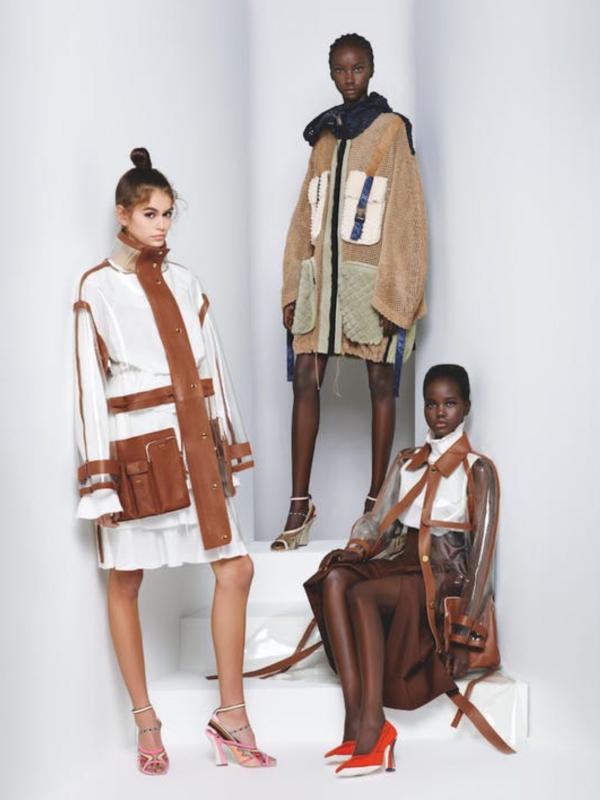 Reklamna kampanja Fendi SS'19 koju je snimio Karl Lagerfeld