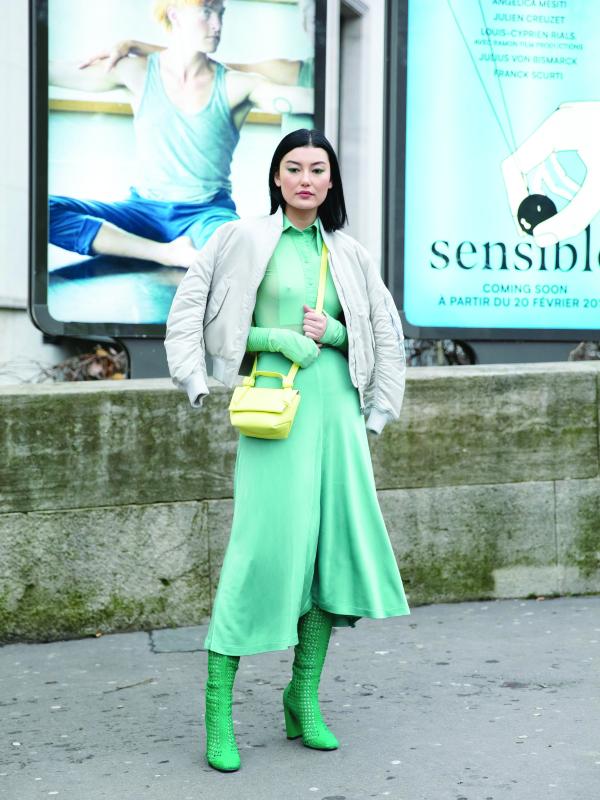 Volimo zeleno – modna smelost