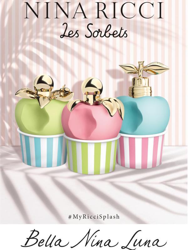Kolekcija Nina Ricci Les Sorbets - Nina, Luna & Bella