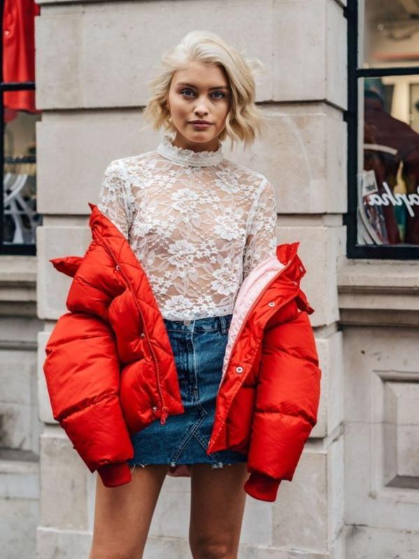 Prolećni trend: suknja od teksasa