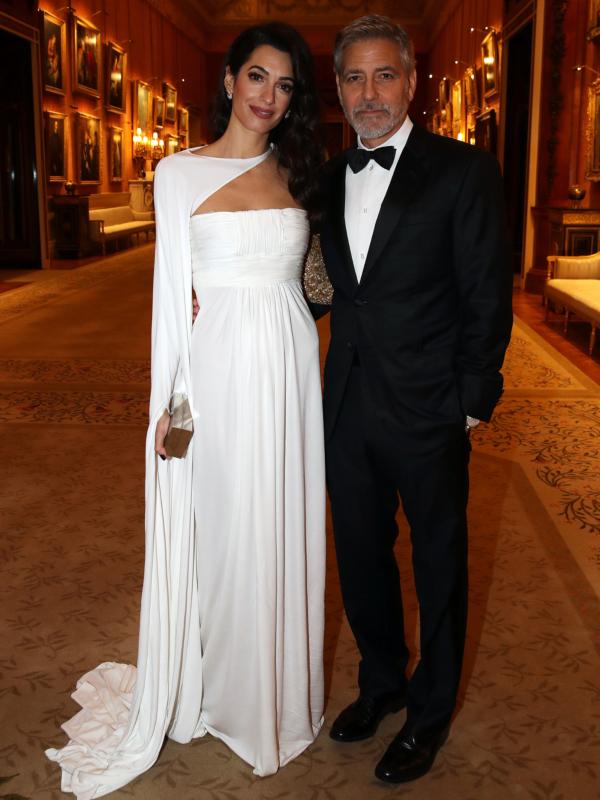 Džordž i Amal Kluni na prijemu kod princa Čarlsa