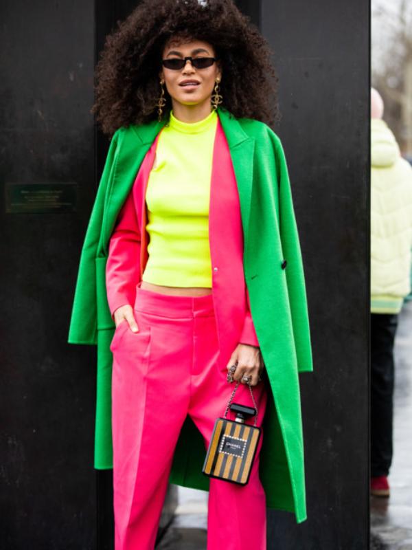 Street style: neon boje u prolećnom ormaru