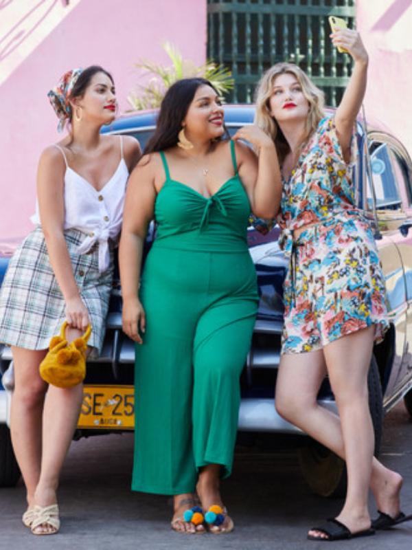 Violeta by Mango: haljine, kombinezoni i suknje u velikim veličinama
