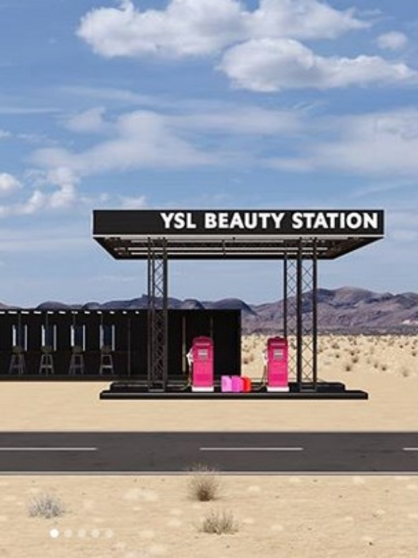 YSL Beauty pop-up prodavnica na Coachella festivalu
